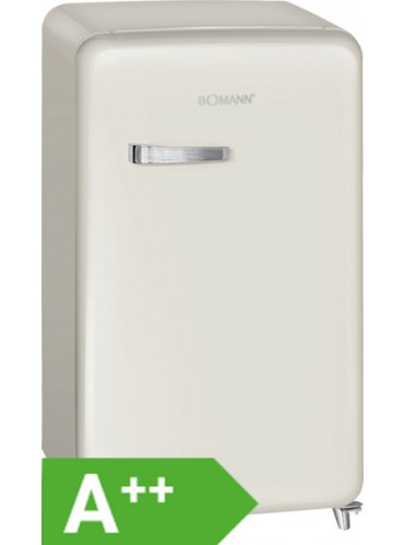 Bomann KSR 350 Retro-Kühlschrank / EEK: A++ / 121 Liter / Beige