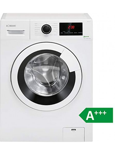 Bomann WA 7170 Waschmaschine / EEK: A+++ / 7 kg / 1400 UpM / Weiss