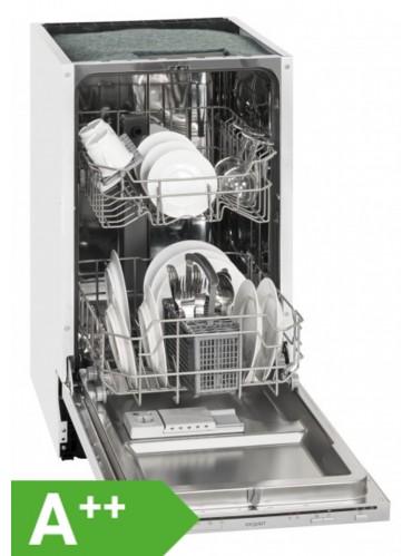 Exquisit EGSP 1009 E Einbau-Spülmaschine / EEK: A++ / 9 MG / vollintegriert / 45 cm