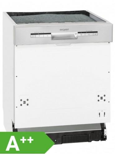 Exquisit EGSP 1012 E/B Einbau - Geschirrspüler / EEK: A++ / 60 cm / Spülmaschine teilintegriert