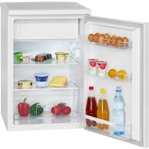 Bomann KS 2184.1 Kühlschrank mit Gefrierfach / EEK: E / 120 Liter / Weiß