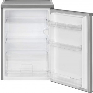 Bomann VS 2185.1 Kühlschrank / EEK: E / 133 Liter / Vollraum / Edelstahloptik