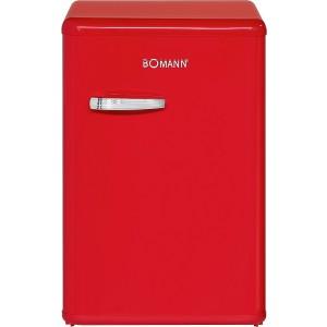 Bomann Retro-Vollraum-Kühlschrank VSR 352 Rot / EEK: A++ / 130 Liter