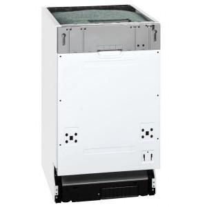 Exquisit EGSP 1009 E/B Einbau-Spülmaschine / EEK: A++ / 9 MG / teilintegrierbar / 45 cm