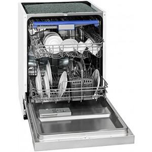 Exquisit EGSP 9514 E/B Einbau Geschirrspüler, EEK A+++ Spülmaschine teilintegriert