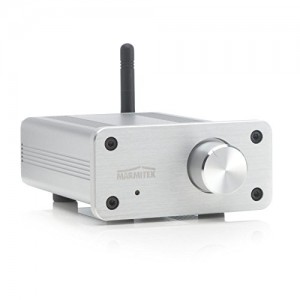 Marmitek BoomBoom 460 - Bluetooth aptX Musik-Empfänger mit Verstärker