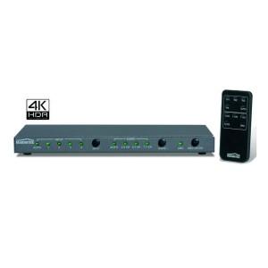 Marmitek Split 418 UHD - HDMI Splitter mit 4K UHD Unterstützung