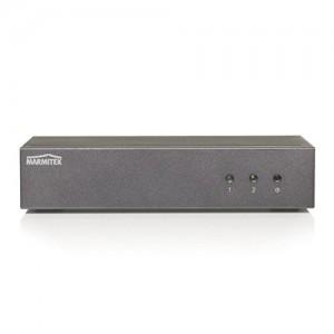 Marmitek Split 812 UHD - HDMI Splitter mit Auto-Skalierung und 4K UHD Unterstützung (08227)