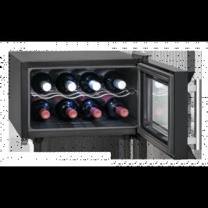 ProfiCook PC-GK 1162 Glastür-Getränke-Flaschen-Kühlschrank /EEK: A / 20 Liter