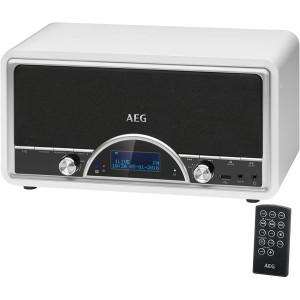 AEG NDR 4378 Retro-Digitalradio mit Bluetooth und DAB+ weiß