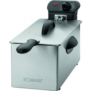 Bomann FR 2264 CB Edelstahl - Fritteuse mit Kaltzonentechnik