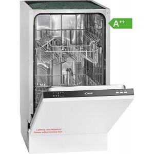 Bomann GSPE 891 Einbau-Geschirrspüler / EEK: A++ / 9 MGD / 45cm