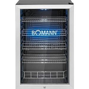 Bomann Glastür-Kühlschrank KSG 7284.1 / EEK: F / 115 Liter