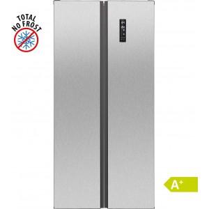 Bomann SBS 2350 IX Side-by-Side / EEK: A+ / 455 Liter / Edelstahloptik