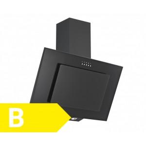 Vestel VHD60BS Kopffreihaube / EEK: B / 60 cm / Schwarz / Dunstabzugshaube