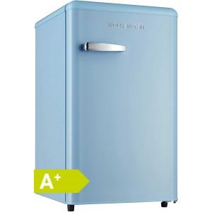 WOLKENSTEIN KS95RT LB Retro - Kühlschrank / Blau / EEK: A+ / 90 Liter