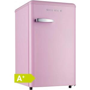 WOLKENSTEIN KS95RT SP Retro - Kühlschrank / Pink / EEK: A+ / 90 Liter